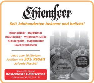 Anzeige Chiemseer